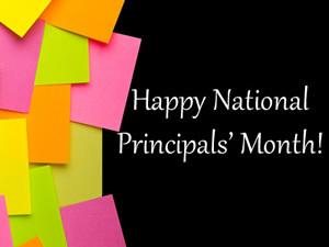 Happy National Principals Month
